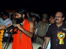 Ramdev At Shiksha Bharti